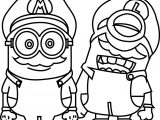 Minions Cosplay Mario World Capa Para Coloring Page