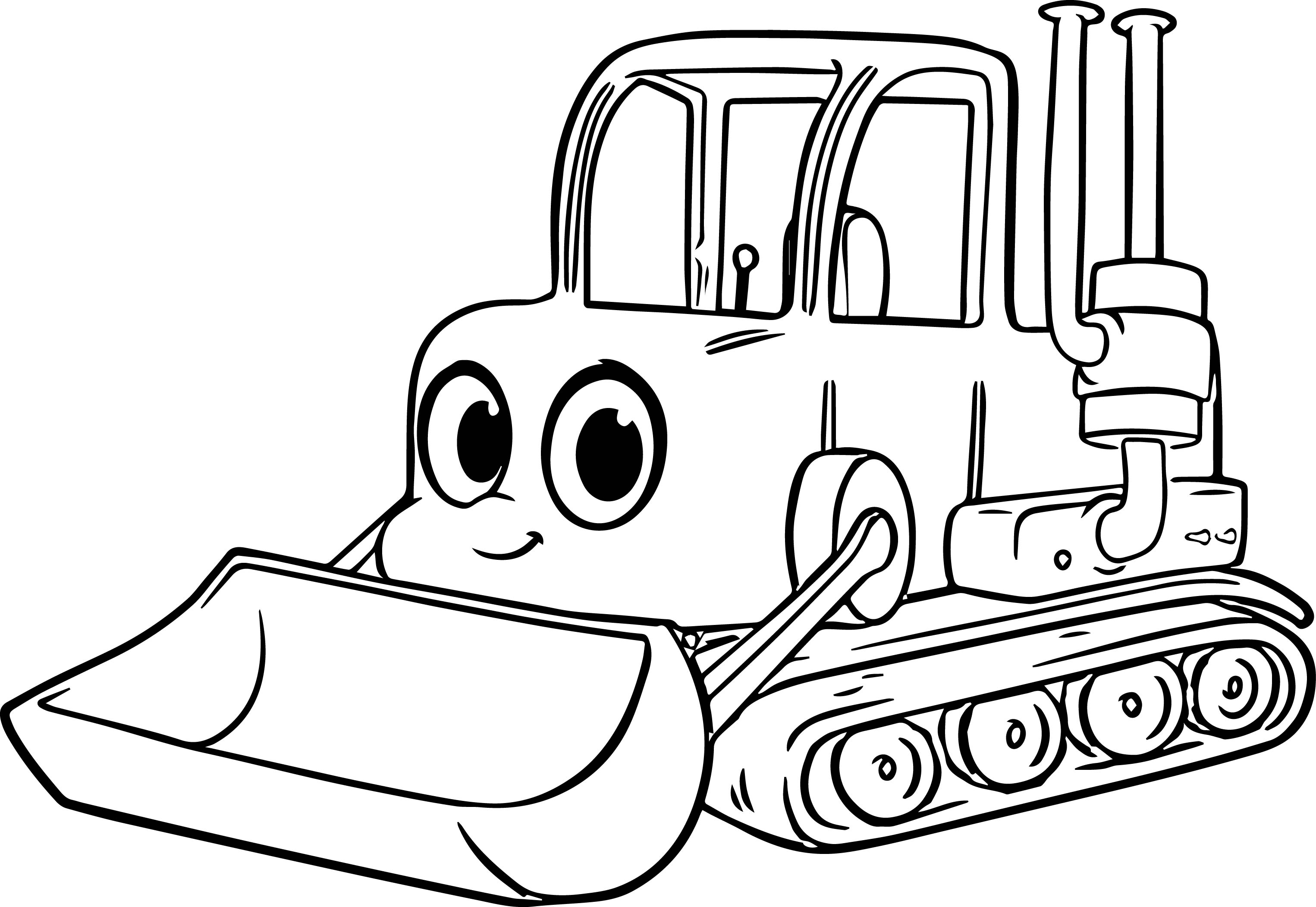 Bulldozer Coloring Page Az Pages Sketch Coloring Page Bulldozer Coloring Pages