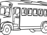 Morphle Cartoon My Cute Bus Coloring Page