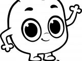 Morphle Cartoon My Cute Coloring Page