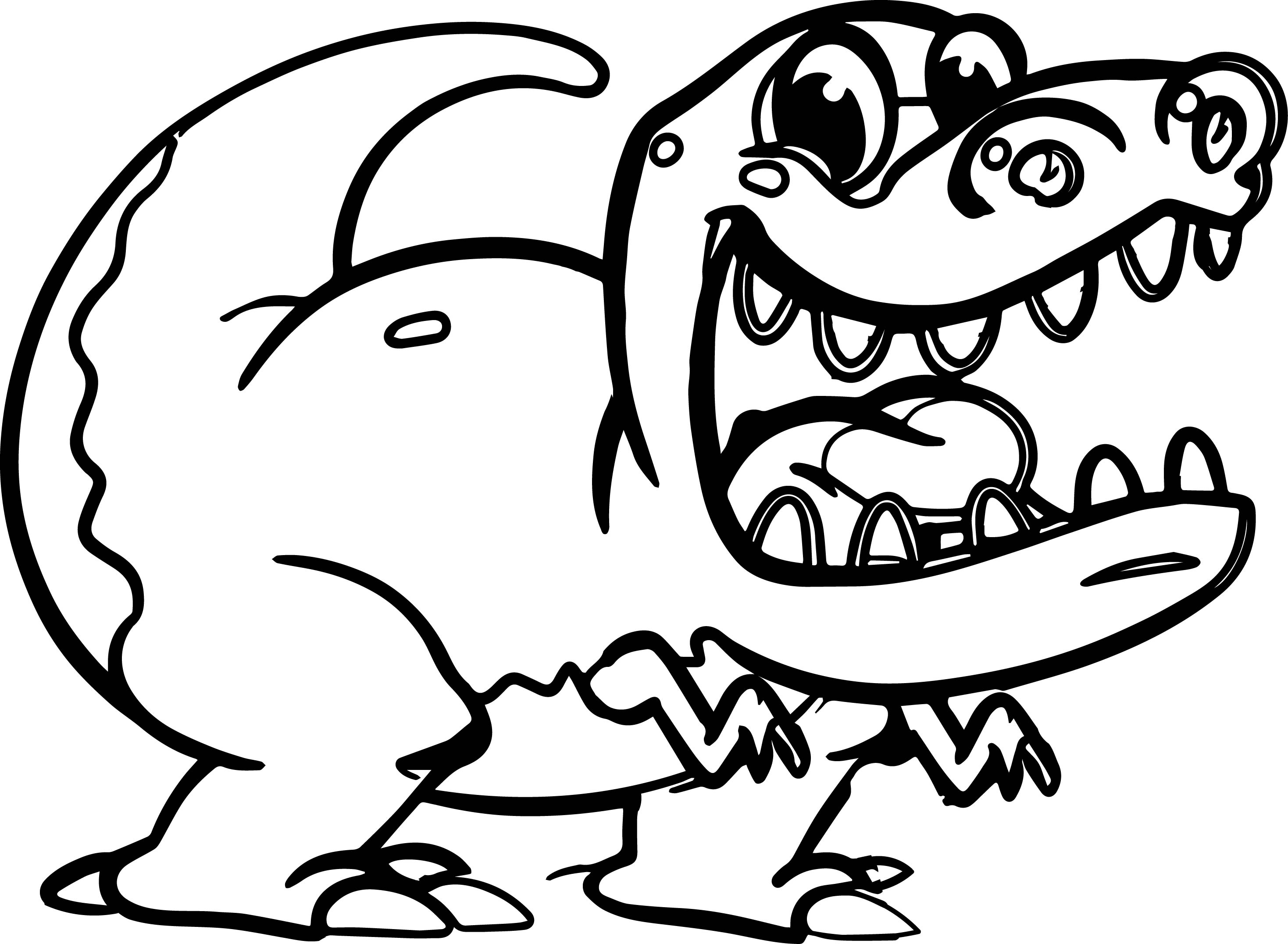 Morphle Cartoon My Cute Pet T Rex Dinosaurs Coloring Page ...