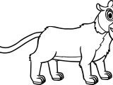 Morphle Cartoon My Cute Pet Tiger Coloring Page