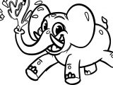 Morphle Cartoon My Elephant Car Coloring Page