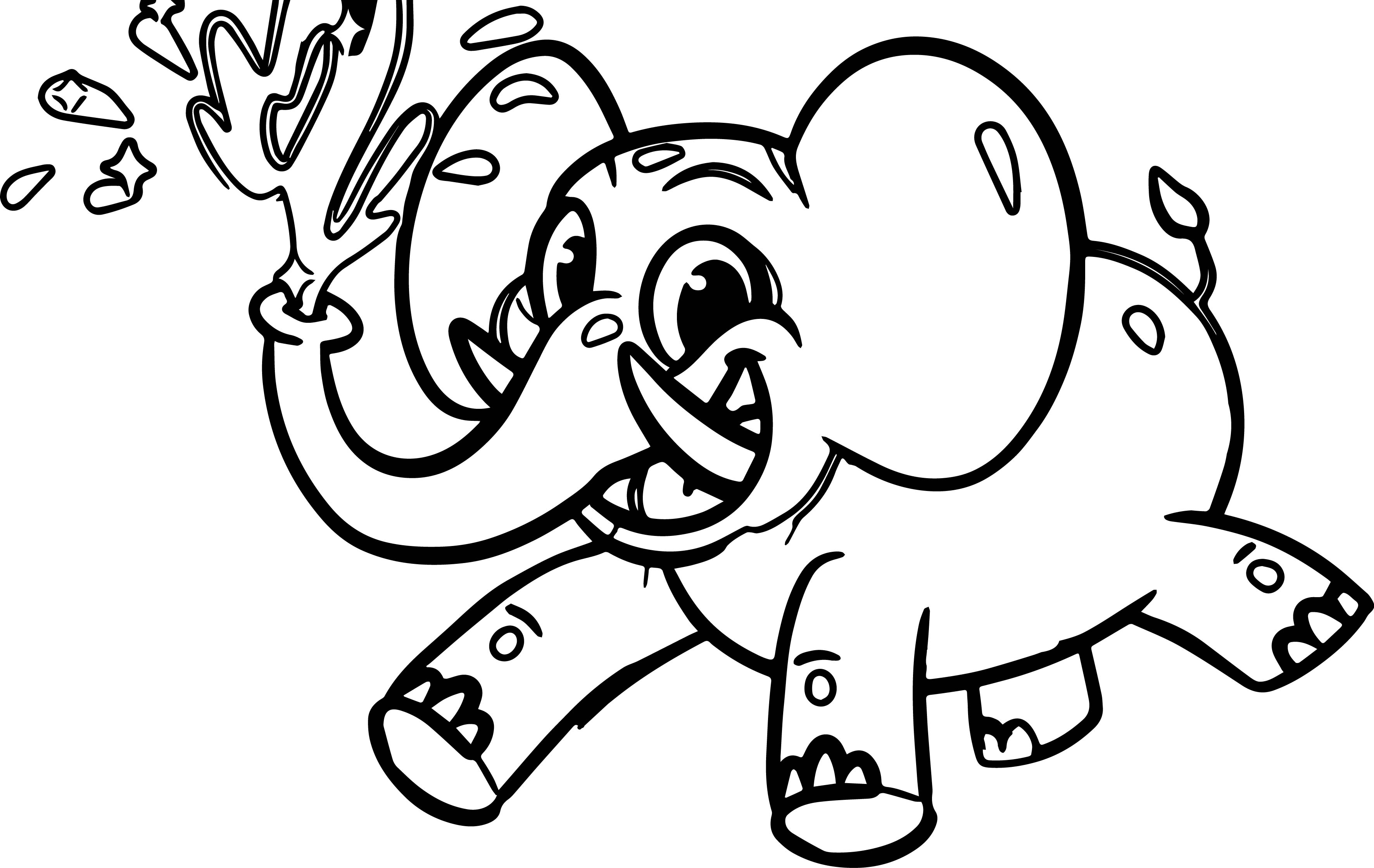 morphle cartoon my elephant car coloring page wecoloringpage