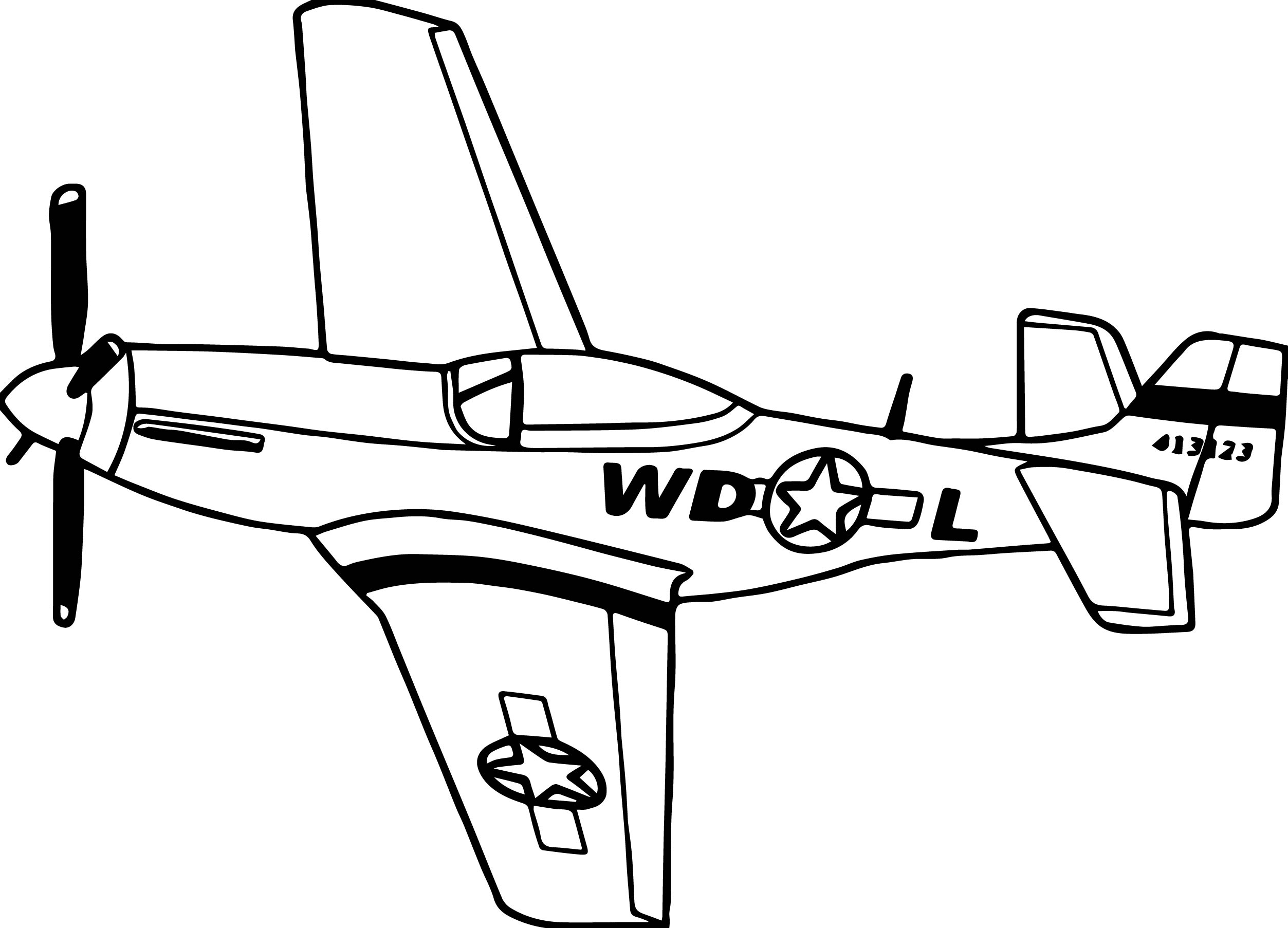 old planes coloring pages - photo#5