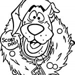 Scooby Doo Christmas Coloring Printable Pages Download
