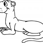 Sit Groundhog Coloring Page