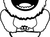 abominable snowman bumbles coloring pages - photo#22
