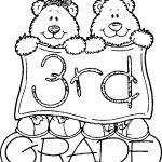3rd Third Grade Bears Coloring Page