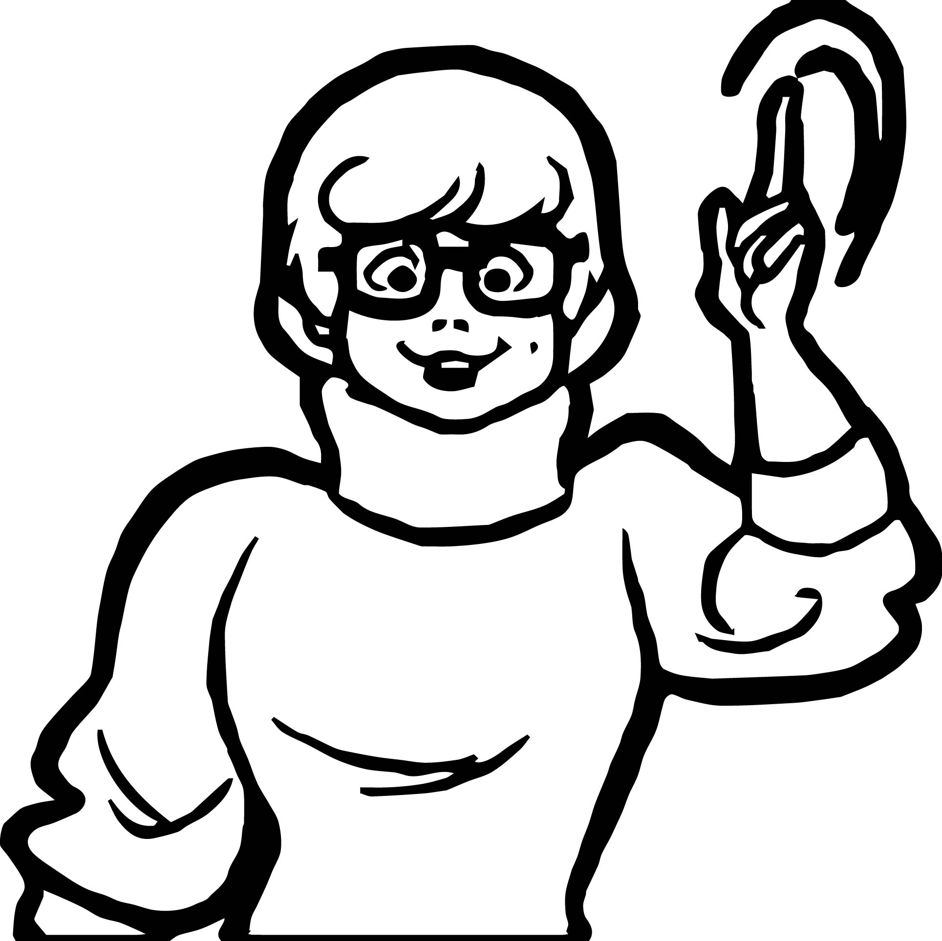 Velma Large Coloring Page