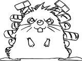 Yu Gi Oh Mole Animal Coloring Page