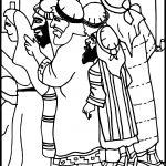 Zacchaeus What Is It Jesus Coloring Page