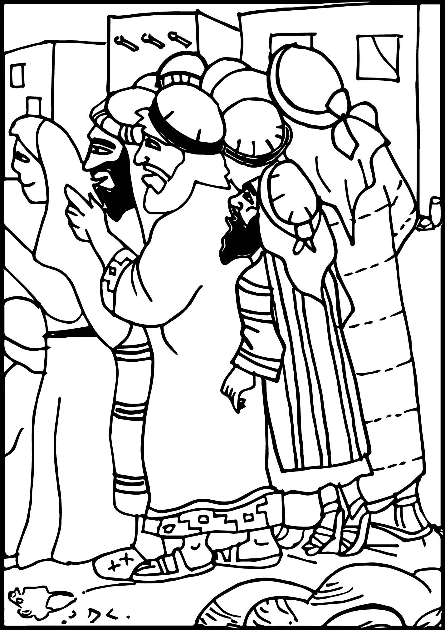 Zacchaeus What Is It Jesus Coloring Page | Wecoloringpage.com