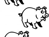 3 Pigs Vocabulary Coloring Pages