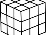 80s Puzzle Box Coloring Page