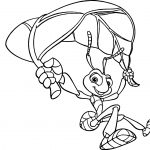 A Bugs Life Coloring Page