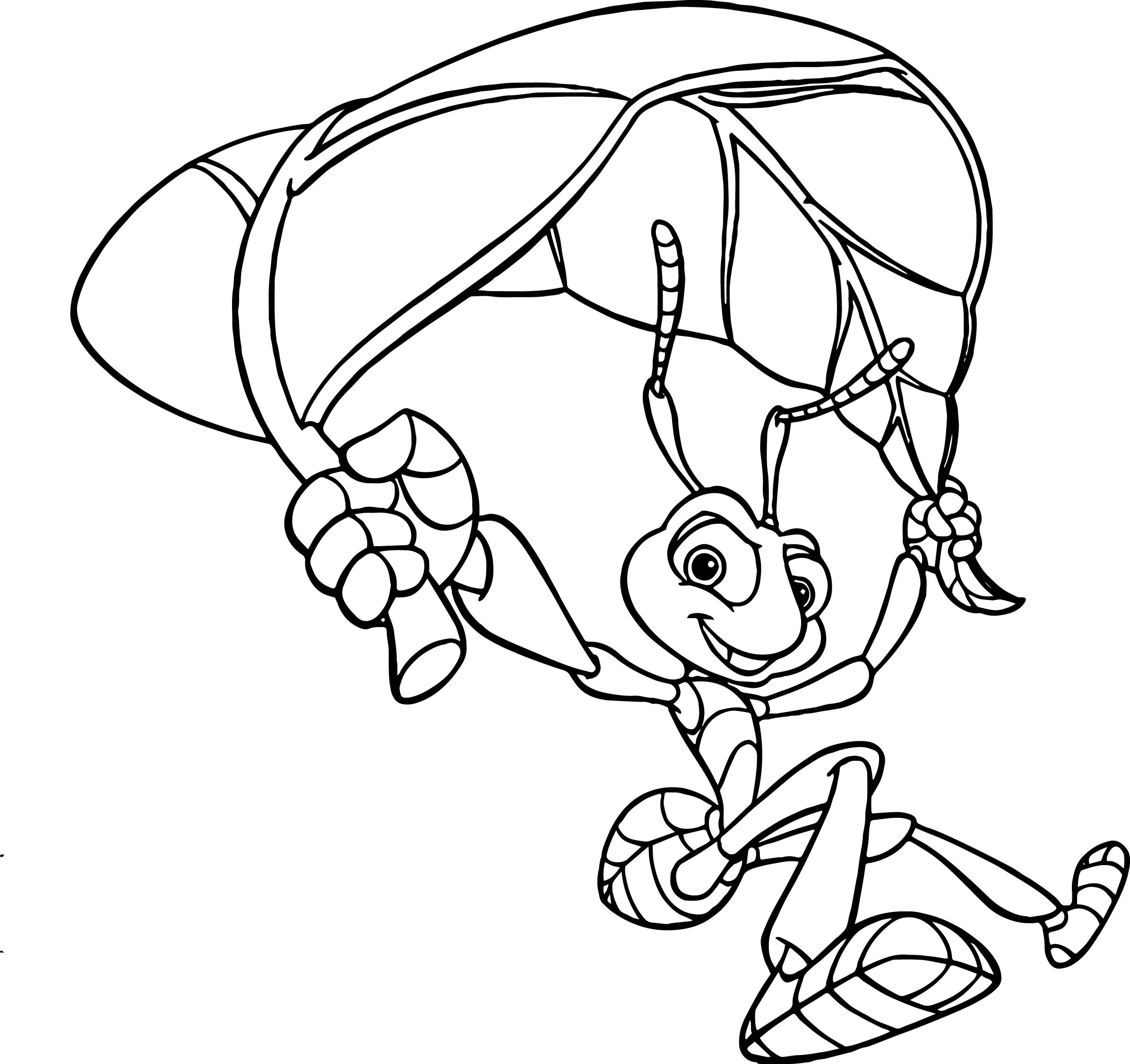 A bugs life coloring page for Bugs life coloring pages