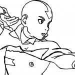 Aang Air Avatar The Last Airbender Coloring Page