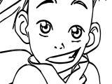 Aang Avatar Aang Coloring Page