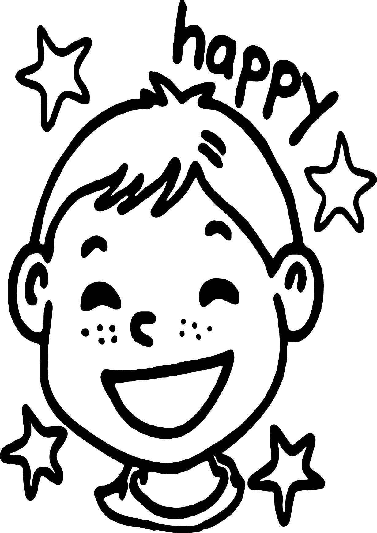 Activity Village Keeping Happy Kids Busy Coloring Page
