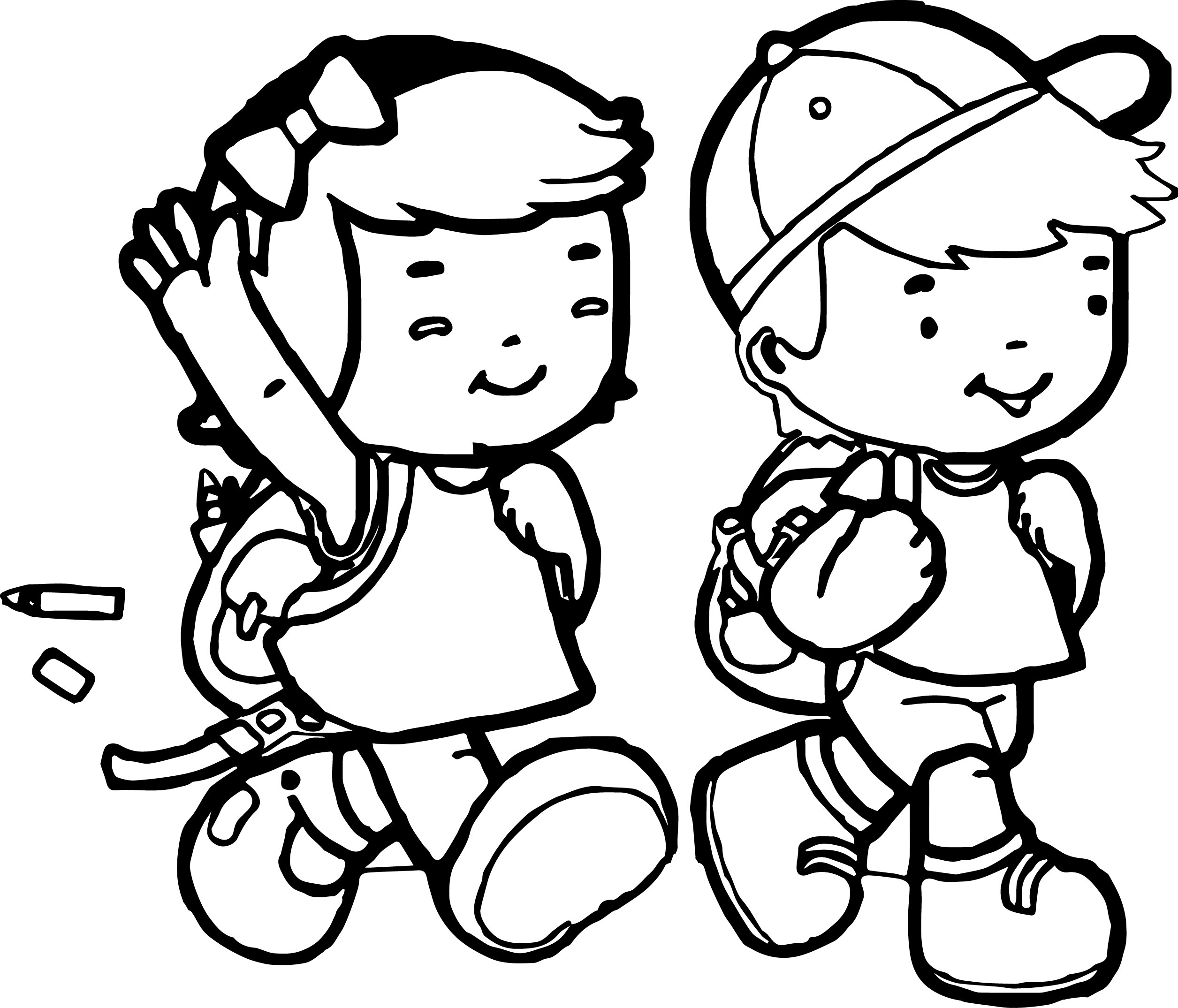 african american kids coloring pages - photo#23