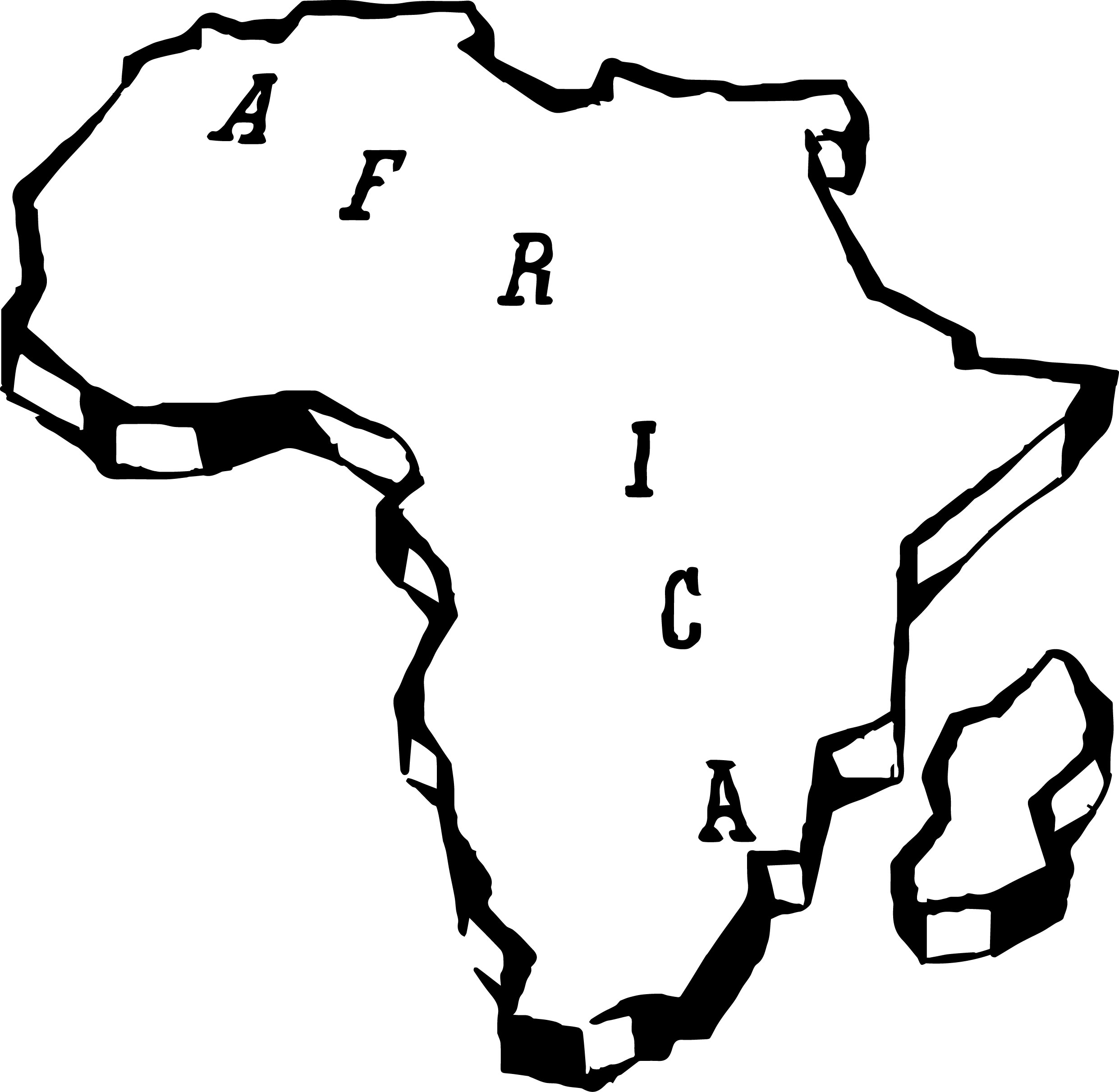 african map coloring page wecoloringpagecom