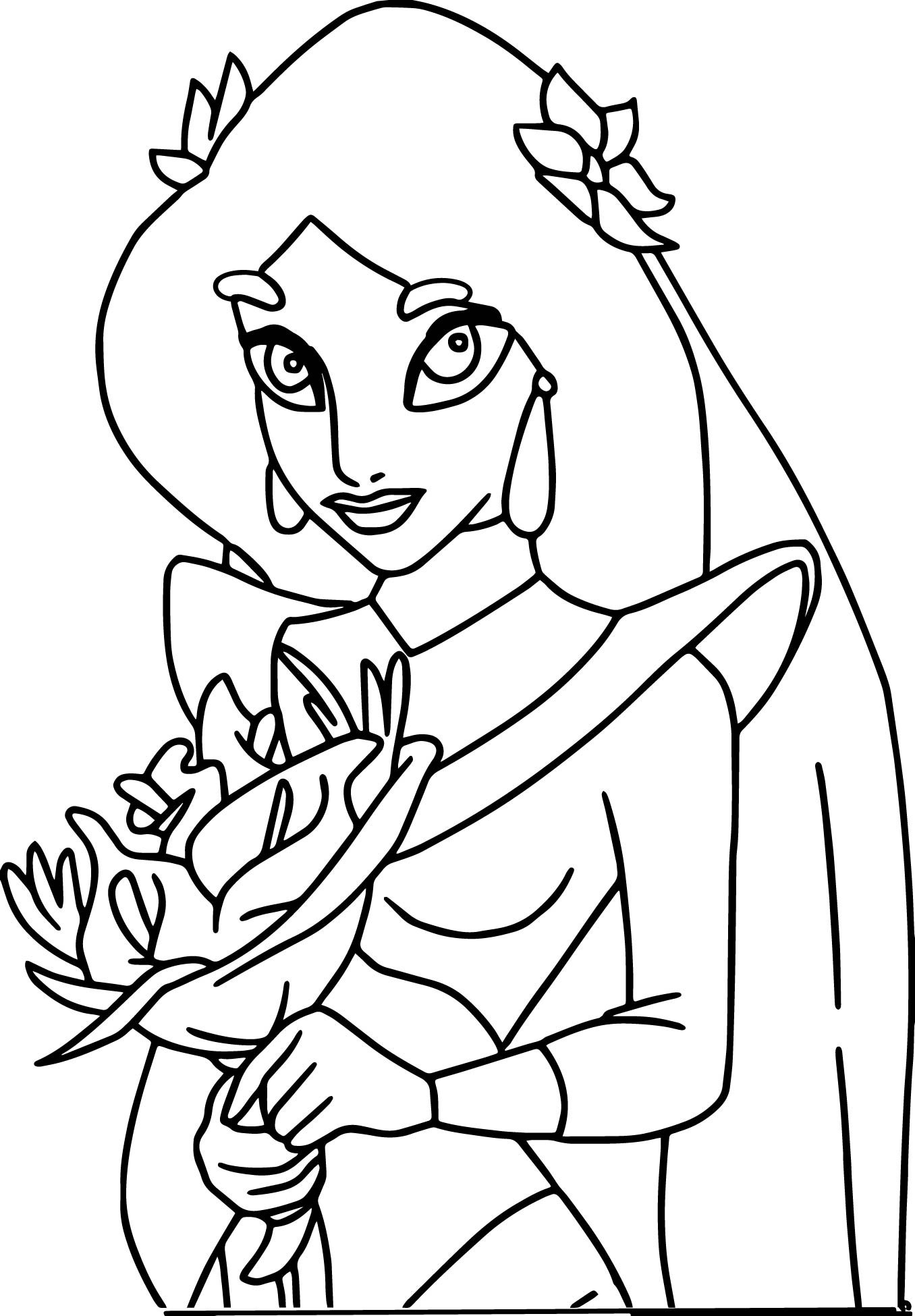 Aladdin And The King Thieves Girl Coloring Pages