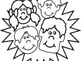 All Kids Coloring Page