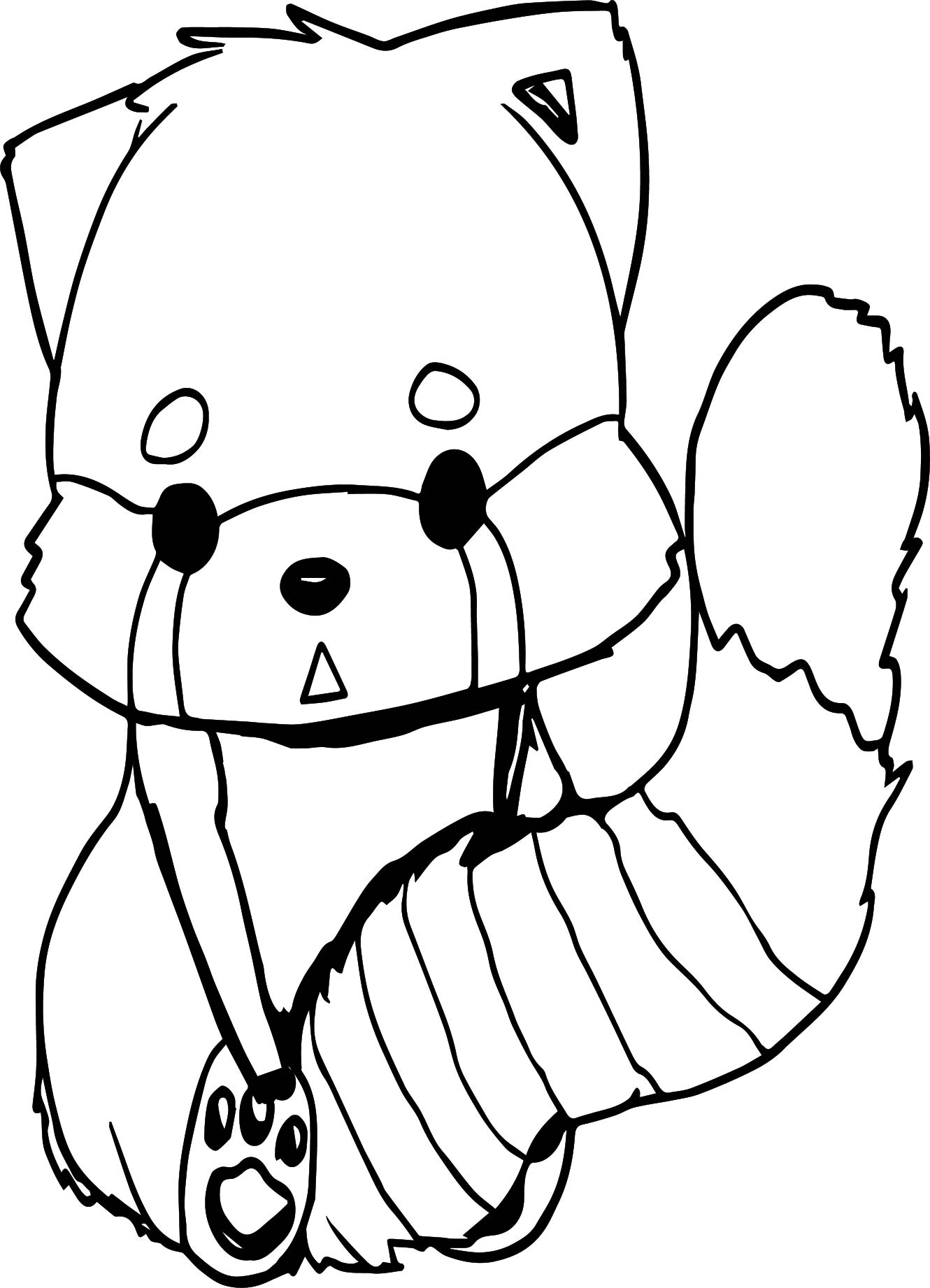 anime fox coloring page wecoloringpage