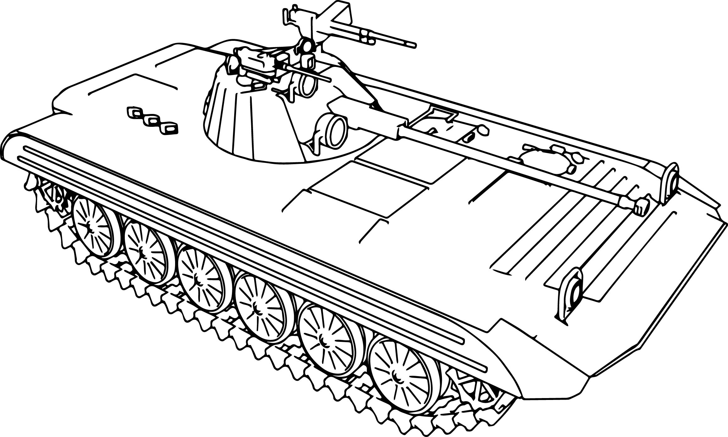 Apc tank coloring page for Tank coloring page