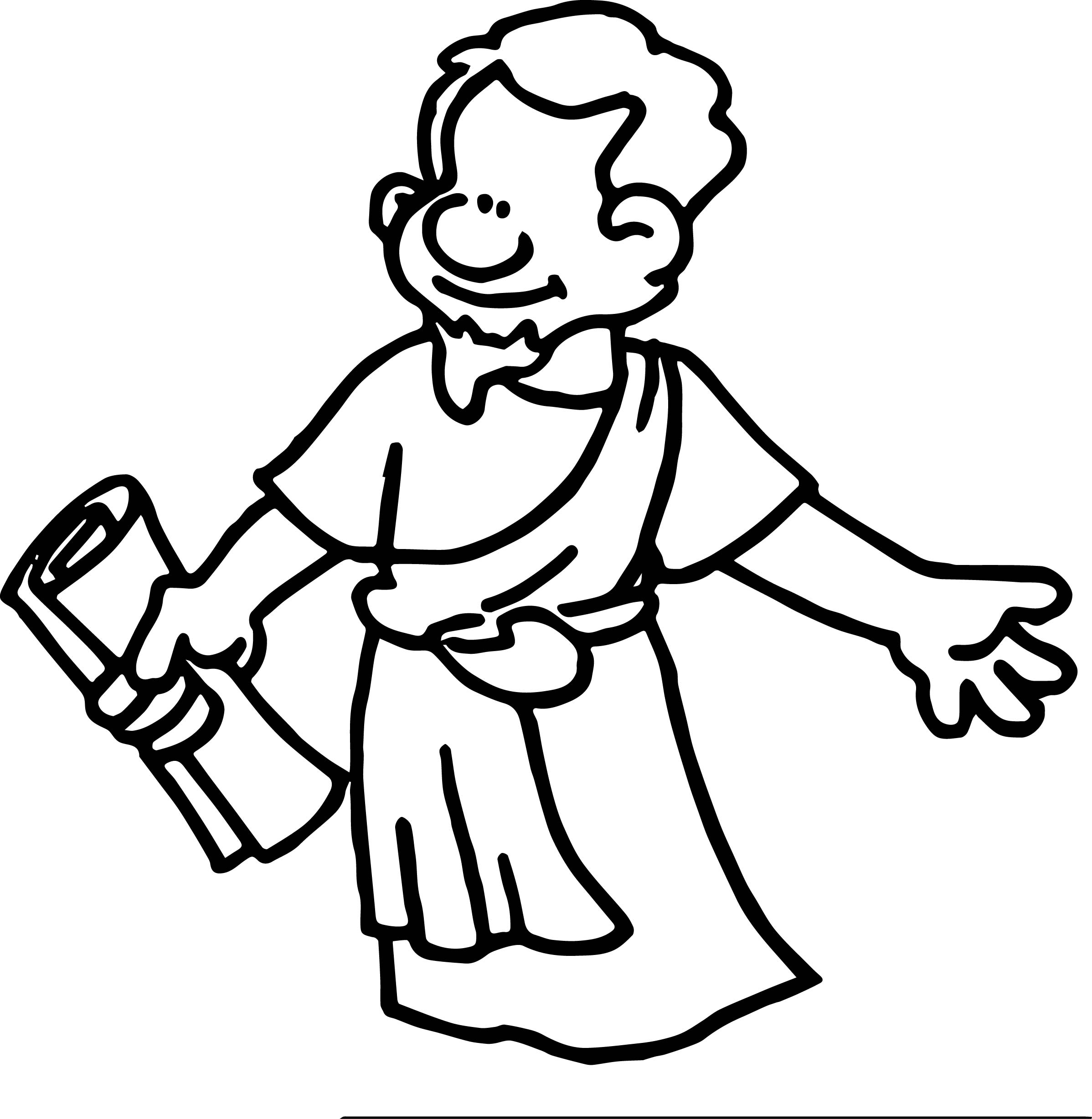 Apostle Paper Coloring Page