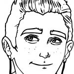 Archie Article Story Large Face Coloring Page