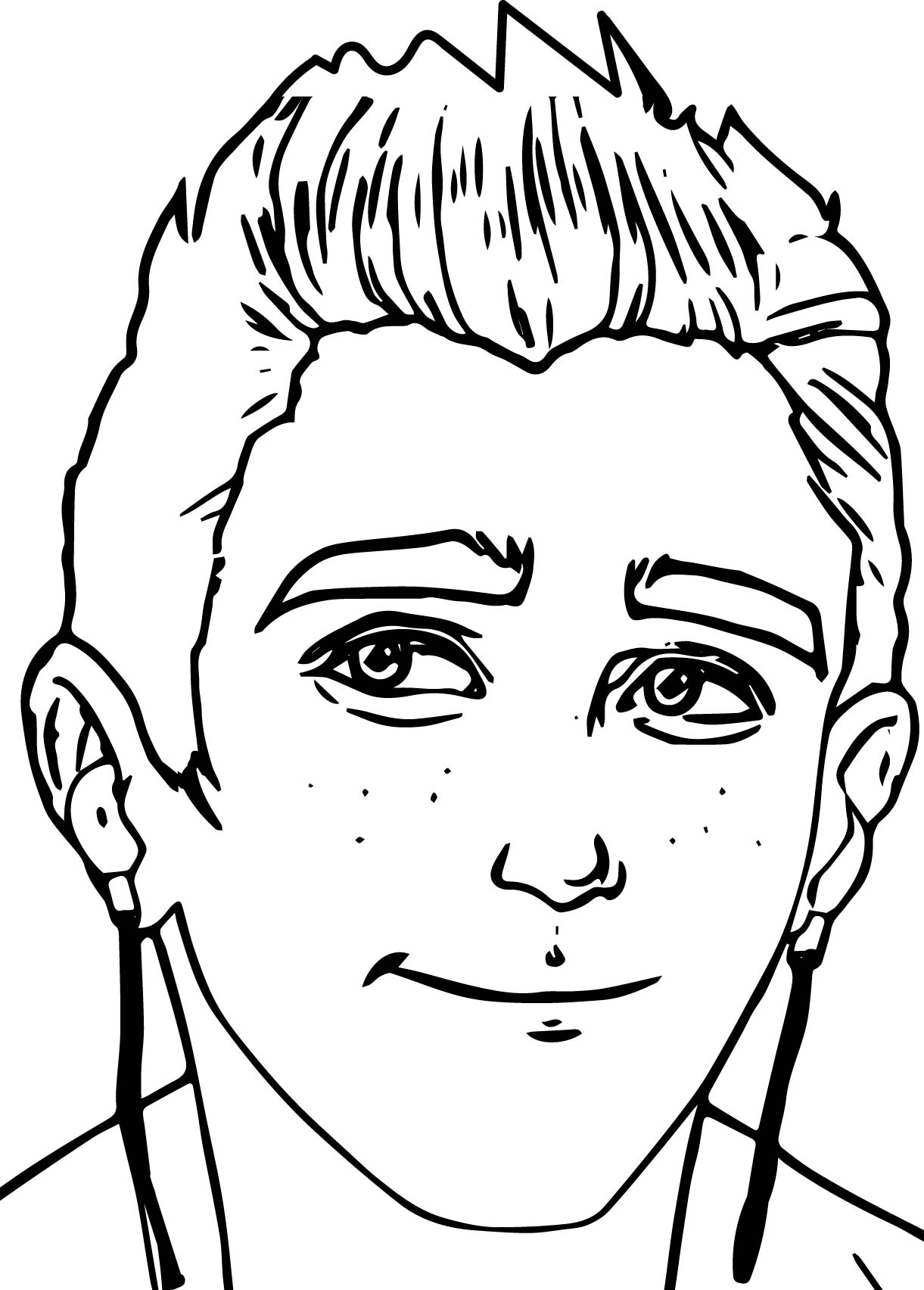 Coloring Pages Archie Coloring Pages archie article story large face coloring page wecoloringpage page