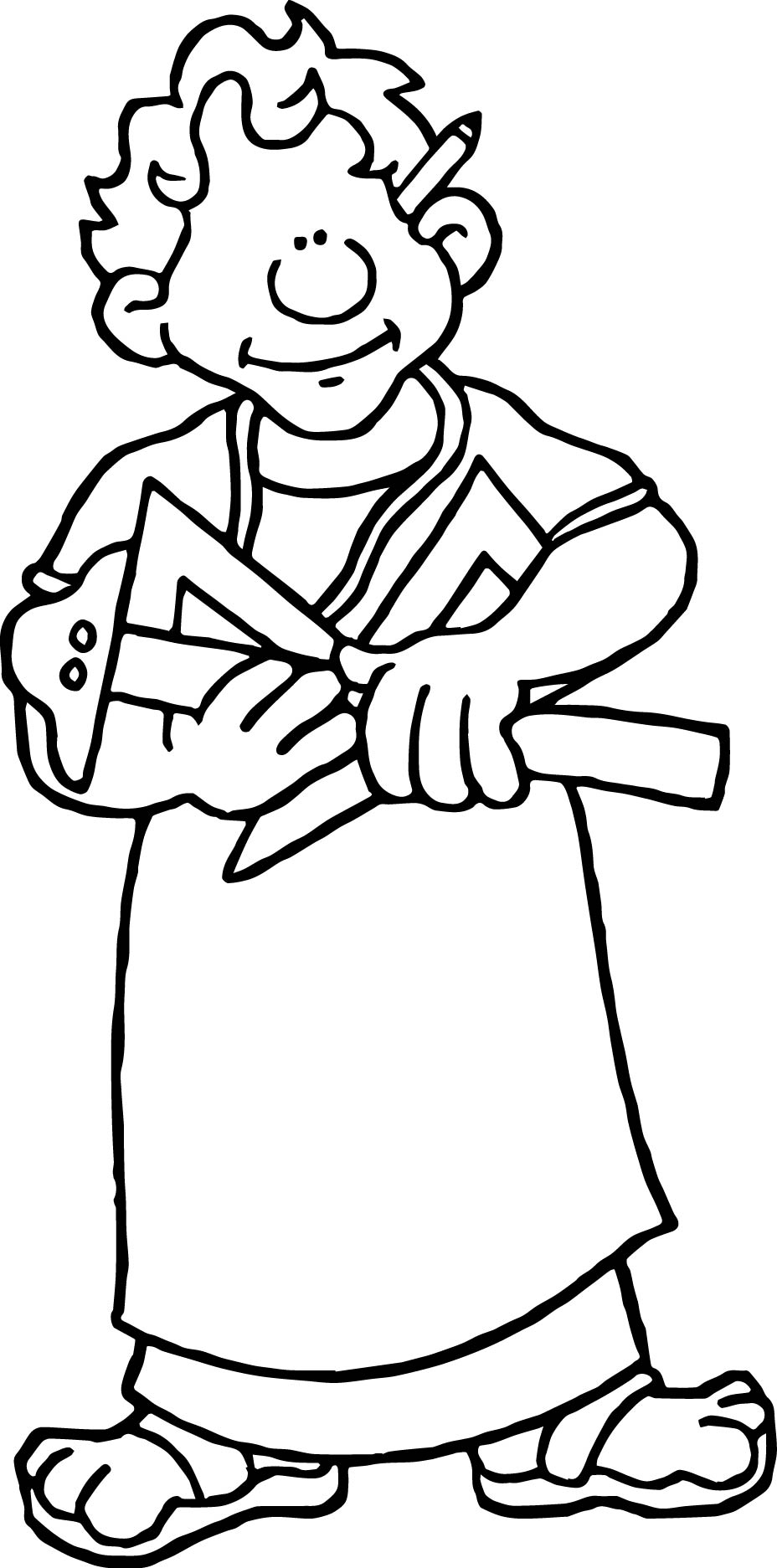 Architecture Greek Architect Coloring Page