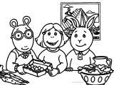 Arthur Pbs Kids Coloring Page