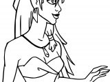 Atlantis The Lost Empire Beautiful Kida Girl Coloring Page