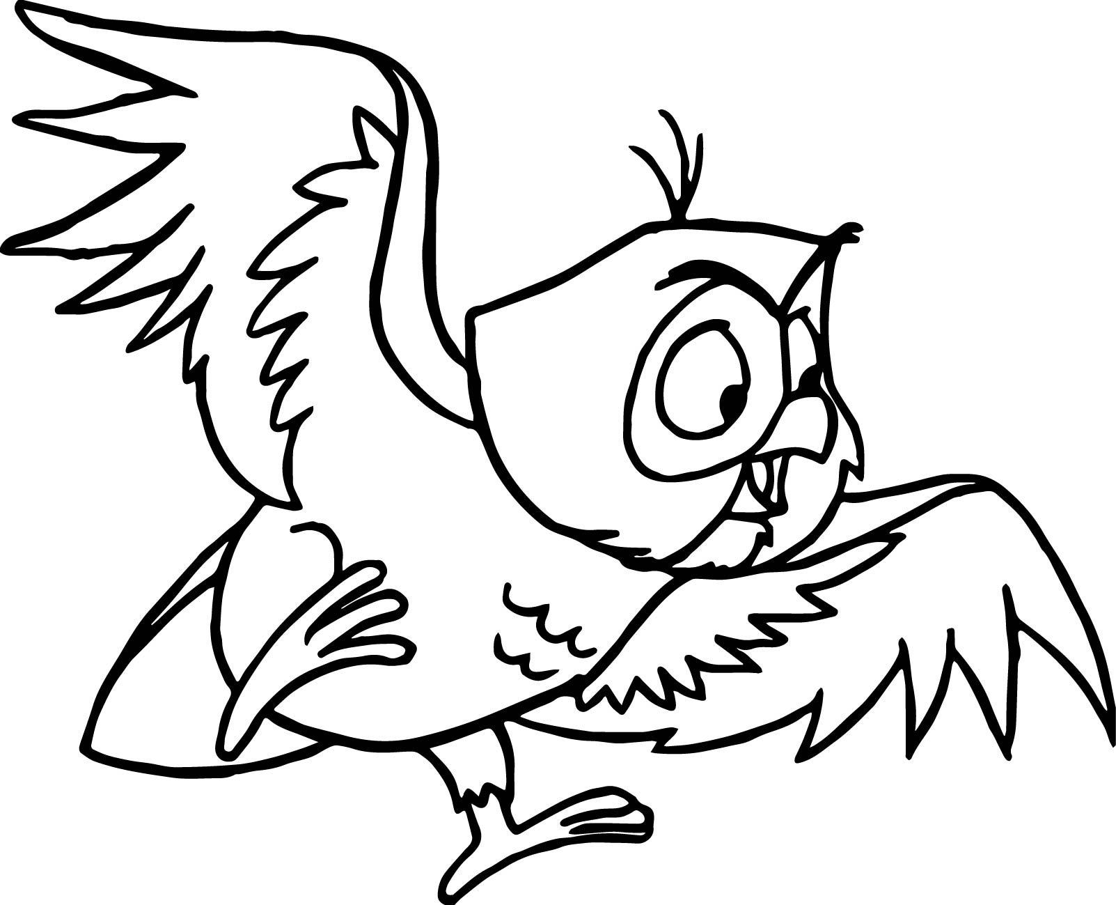 Aurora Misc Sleeping Beauty Animal Owl Coloring Page