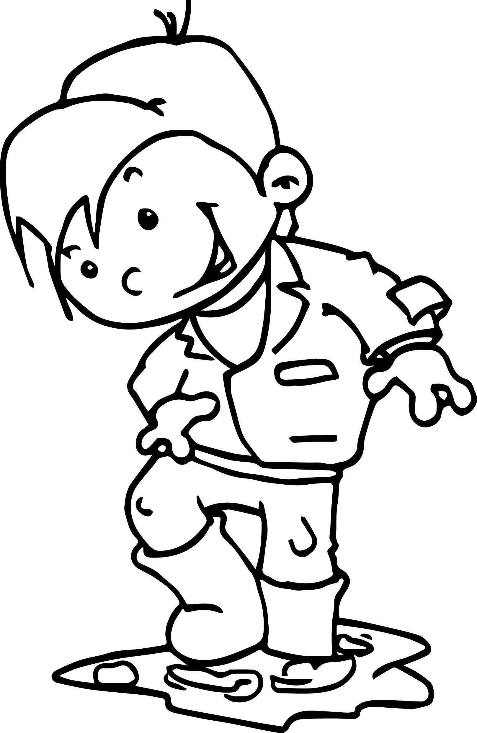 fall coloring pages for preschoolers - autumn image free kindergarten coloring page