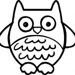 Aztec Owl Coloring Page