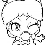 Baby Daisy Gum Coloring Page