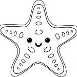 Baby Gear Rentals Kauai Starfish Coloring Page