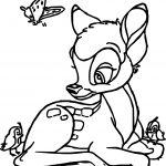 Bambi Birds Coloring Pages