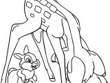 Bambi Bunny Hide And Seek Coloring Pages