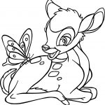 Bambi Butter Coloring Pages