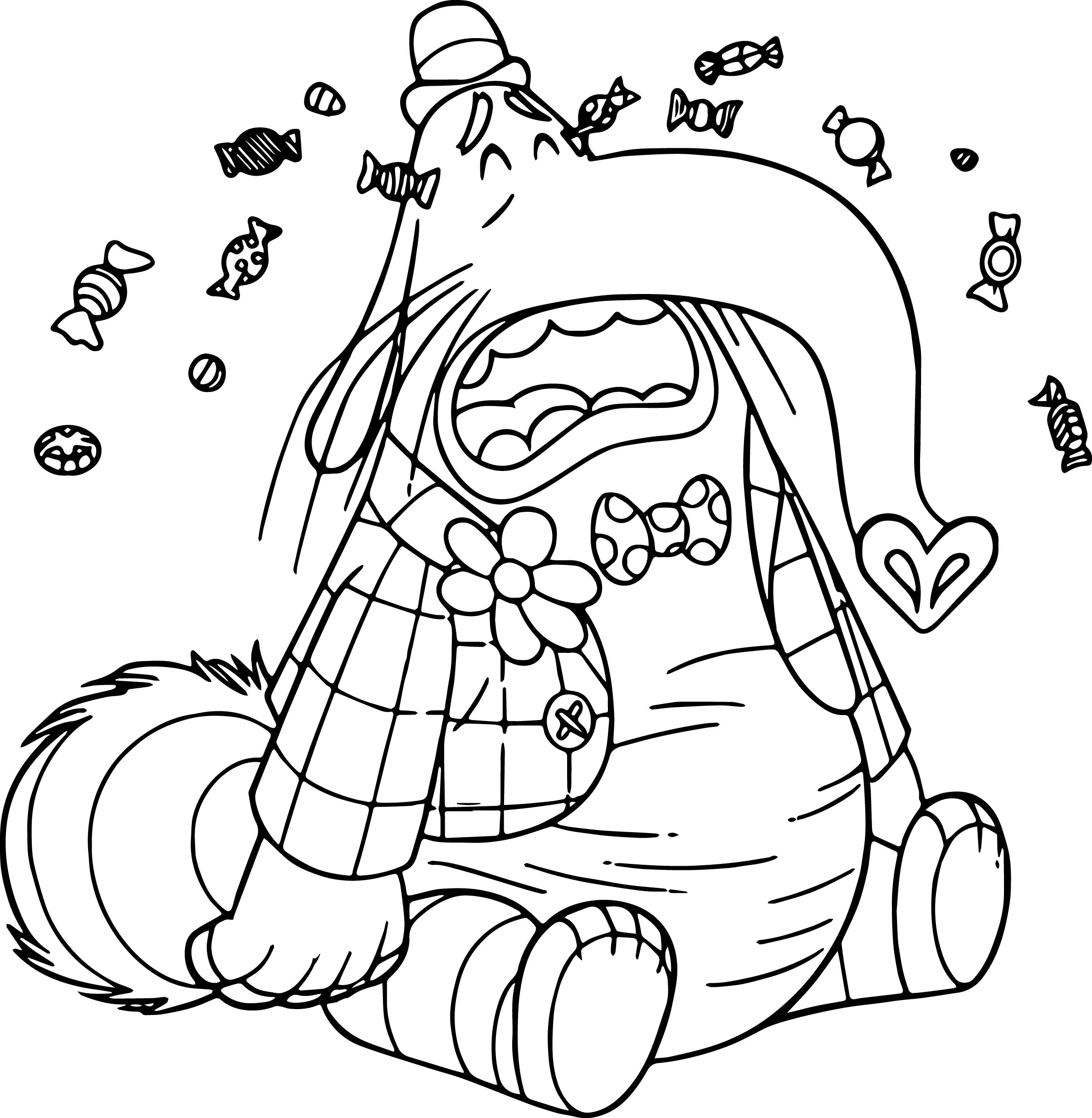 Inside out coloring pages riley - Bingbong Cry Coloring Pages
