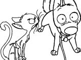 Bolt Dog And Cat Coloring Pages