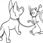 Bolt Dog Cat Coloring Pages