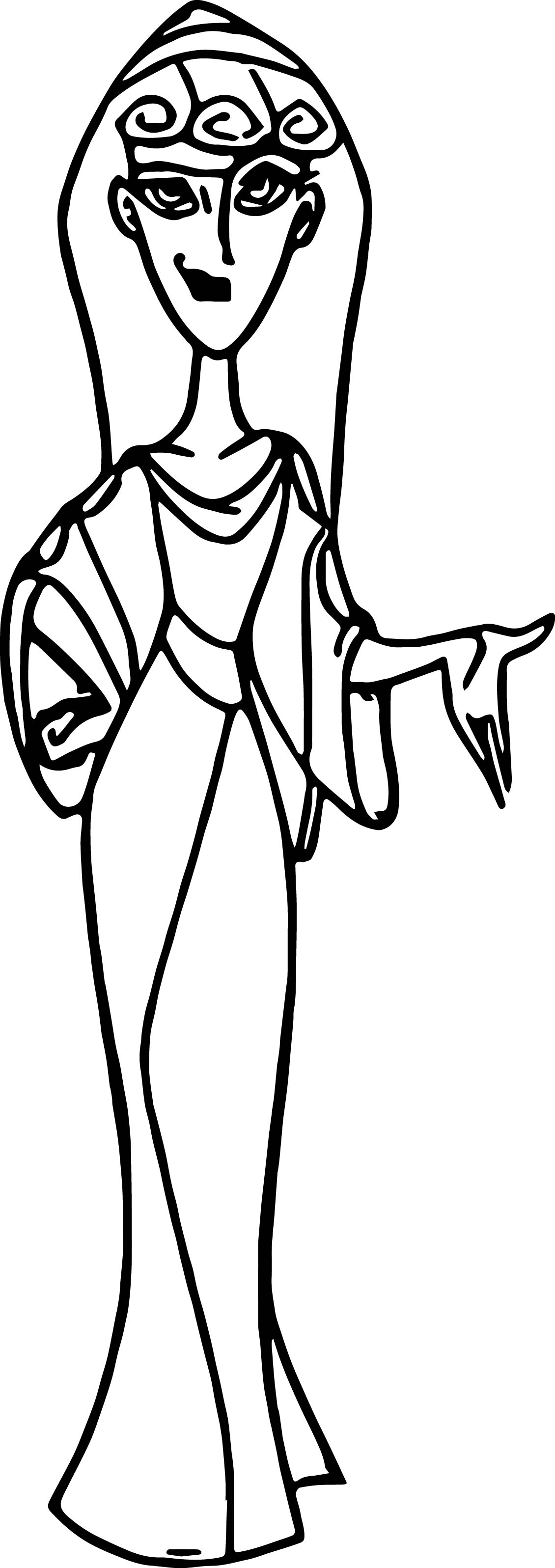 Cassandra Woman Coloring Pages