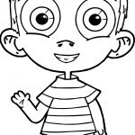 Child Kids Coloring Page