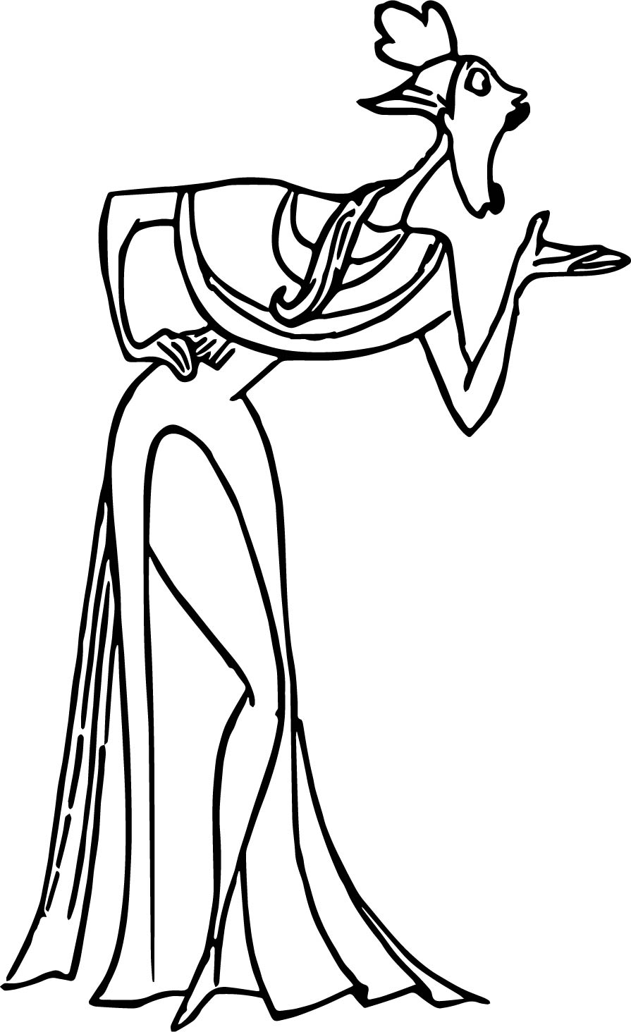 Clio Coloring Pages
